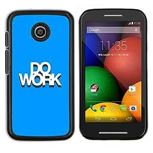 """Be-Star Único Patrón Plástico Duro Fundas Cover Cubre Hard Case Cover Para Motorola Moto E / XT1021 / XT1022 ( Haga Obras"""" )"""