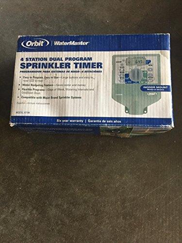 Orbit Watermaster 4-Station Dual-Program Sprinkler Timer
