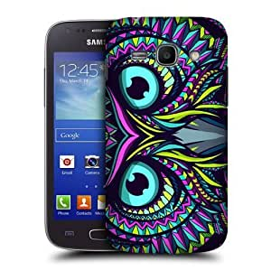 lintao diy AIYAYA Samsung Case Designs Owl Aztec Animal Faces Protective Snap-on Hard Back Case Cover for Samsung Galaxy Ace 3 S7270 S7272 S7275
