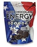 Cheap Pure Chocolate Energy (Chews) All Natural Dark Chocolate, Caffeine, Vitamin B12, Energy Blend. Kosher, Vegan, Non-GMO, Gluten Free, Dairy Free, Soy Free, Made in USA