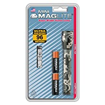 Maglite M2AMR6 AA Cell Mini Flashlight (Universal Camo)