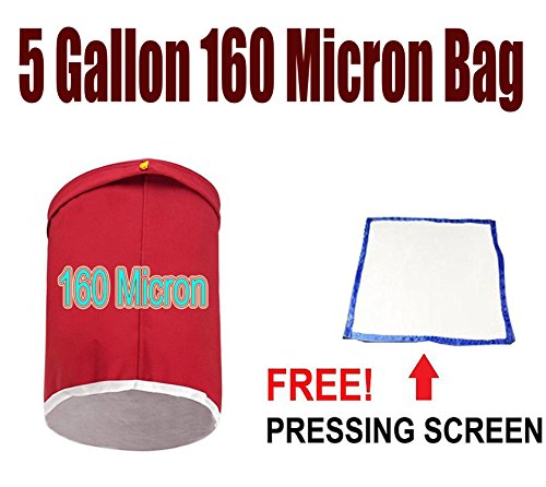 e-onsale-essense-extractor-kit-herbal-ice-bubble-hash-bag-5-gallon-size-160-micron-red