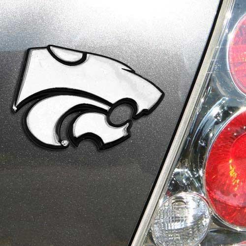 Wildcats Car (NCAA Kansas State Wildcats Premium Metal Auto Emblem)