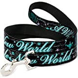 Buckle Down Dog Leash - Aladdin A WHOLE NEW WORLD Story Script