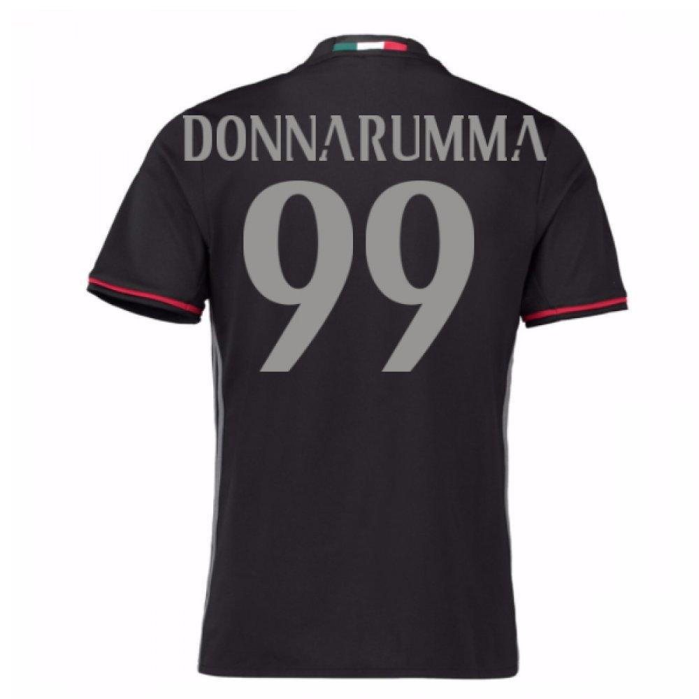 2016-17 AC Milan Home Shirt (Donnarumma 99) B0788KMW7LRed Large 42-44\