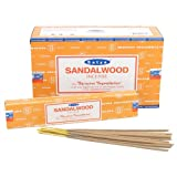 Satya Nag Champa Sandalwood Incense Sticks - Box 12 Packs
