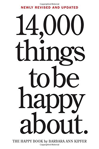 1000 things to be happy about - 1