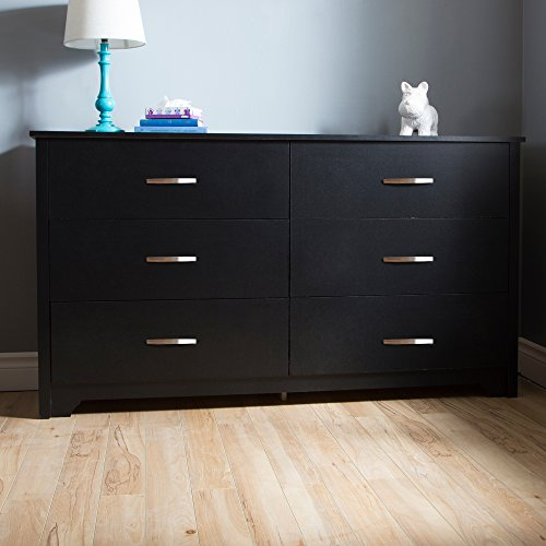 South Shore Fusion 6-Drawer Double Dresser, Multiple Finishe