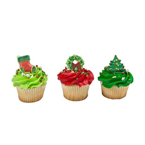 Amazon Com Baking Addict Cupcake Topper Decorations Cake