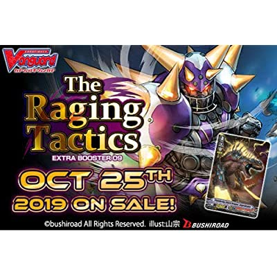 Cardfight Vanguard V EB09 The Raging Tactics Extra Booster Box: Toys & Games