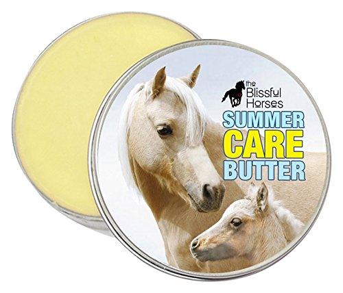 4-Ounce The Blissful Horses Summer Care Butter All Natural Sun Support for Your Horse