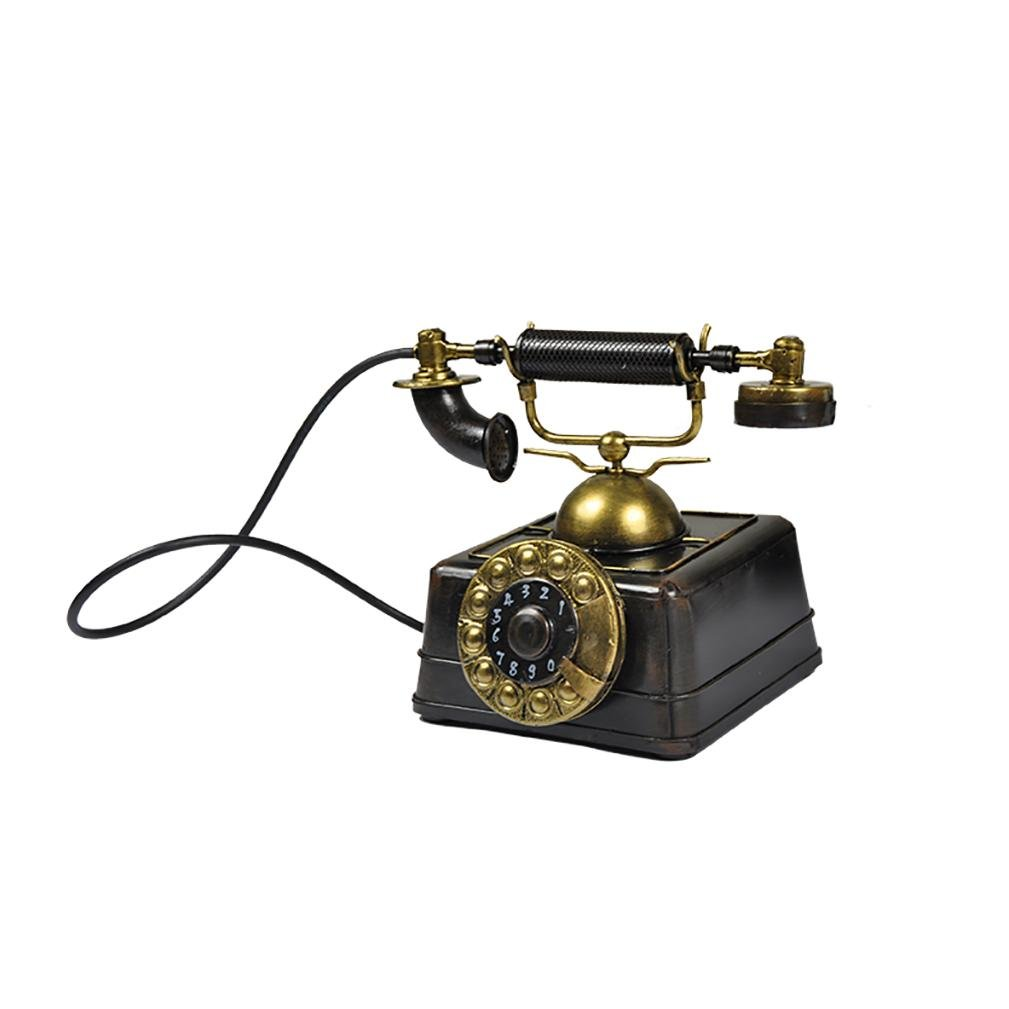 Classic Nicht) Retro Telefon-Modell Home Desk-Dekoration-Geschenk (Arbeiten Nicht) Classic , B 4d758e