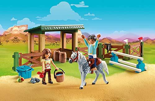 PLAYMOBIL® Spirit Riding Free Riding Arena with Lucky & Javier