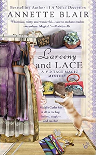 Image result for book cover larceny and lace