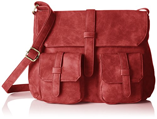 Betty Barclay Bb-1044-ve - Bolso de hombro Mujer Rojo (Red 019)