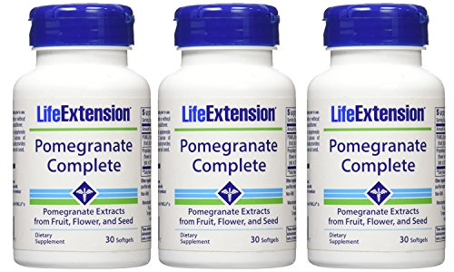 Life Extension Full-spectrum Pomegranate (90) by Life Extension (3 (Complete Pomegranate)