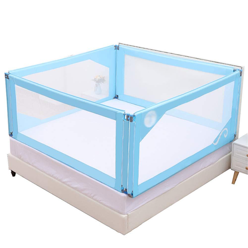 Tienda 2018 LYXPUZI Cerca para bebés     Juegos para niños Barandilla para bebés en Interiores para niños pequeños   Bar de Seguridad área de Juegos para niños (Color : Four-Sided Fence, Tamaño : 180times;190cm)  producto de calidad