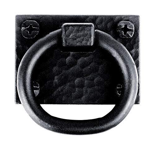 Pull Ring Sq 2x1-716 Bk