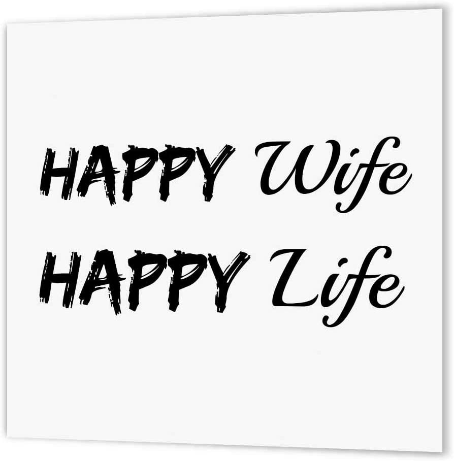 Xander Funny Quotes Happy Wife Happy Life Black Letters On