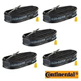 Continental Race 28 700c x 18-25 Bike Tubes (5 Pack) - 60mm Presta Valve