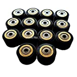 ILLIO Pack Of 10 Pinch Roller For Roland Vinyl Plotter Cutter 31116mm Electronic Cutting Machines Cutting Plotter Wheel Bearing New NEW