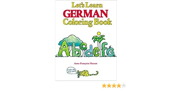 Let's Learn German Coloring Book (Let's Learn Coloring Books ...