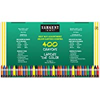 Sargent Art 400-Count Crayon Class Pack, Best-Buy...