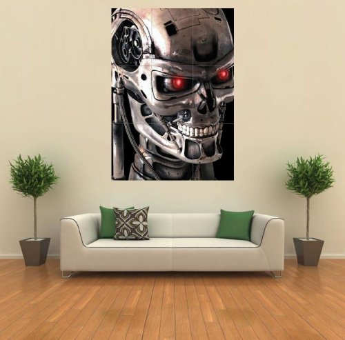 Price comparison product image Terminator 2 Poster - Cybernetic Robot Skeleton Giant Art Print G204