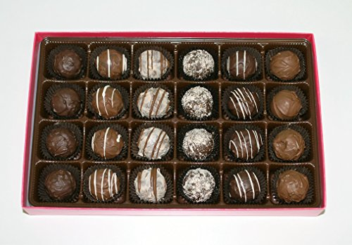 Sugar-free Chocolate Truffles 24 Pieces