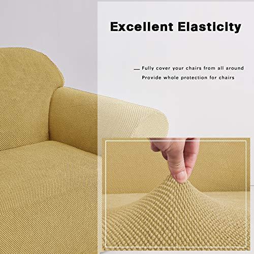 DyFun 1-Piece Jacquard Spandex Stretch Living Room Slipcovers