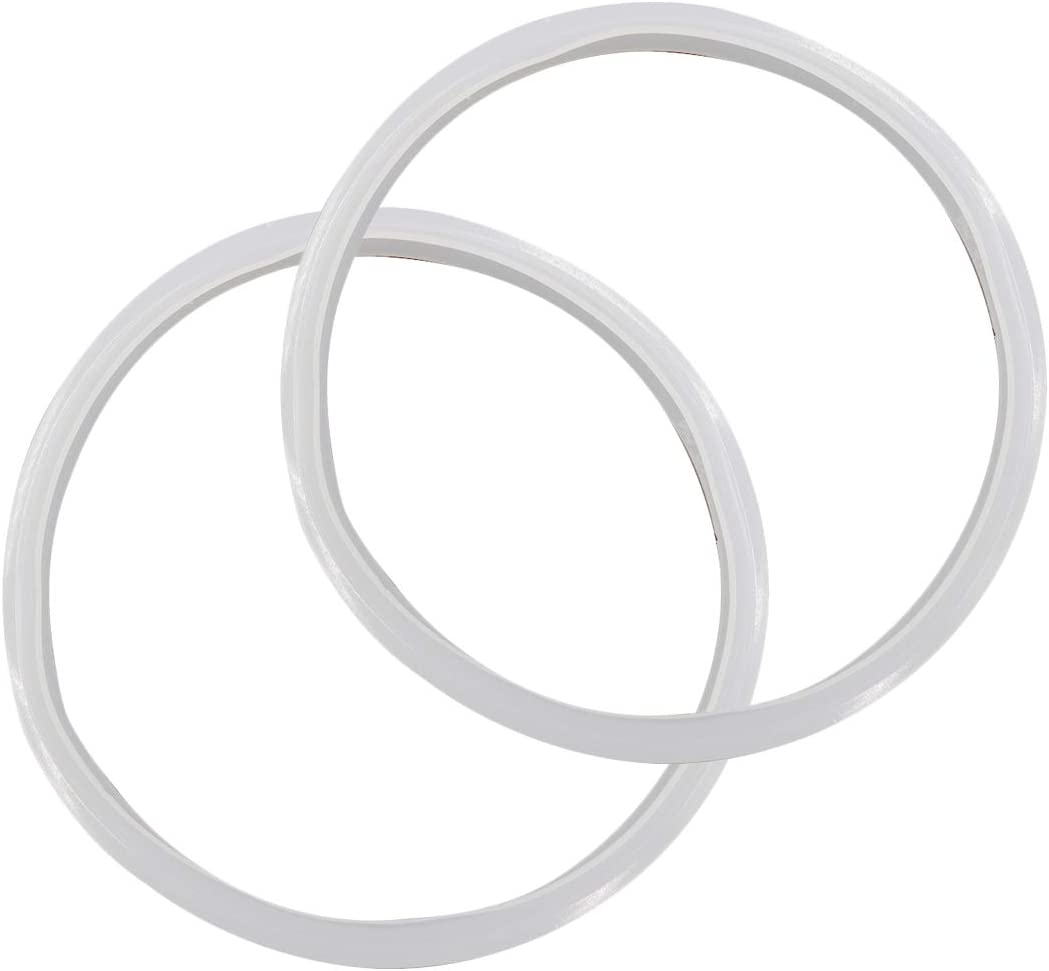 Sydien 2pcs Power Cooker Silicone Sealing Ring for 20cm ID Pressure cooker