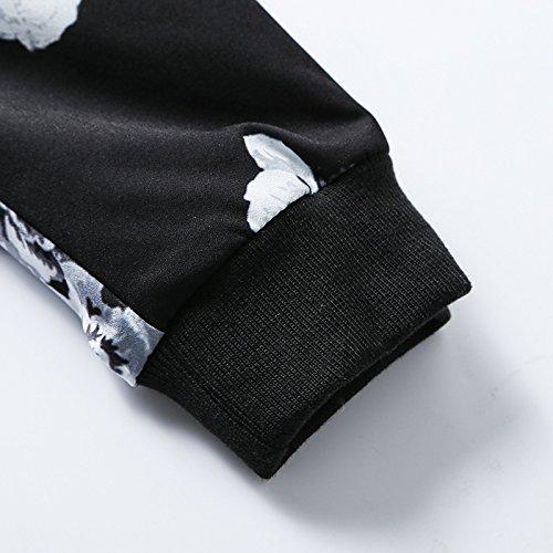 versátil negros chaqueta en un de número elegante de casual Sello chaqueta hombres casual gran y de de 3xl a6wFqv5