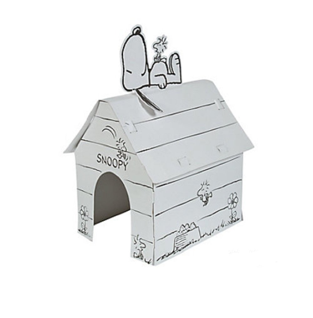 Color Your Own Peanuts Snoopy Playhouse by FE
