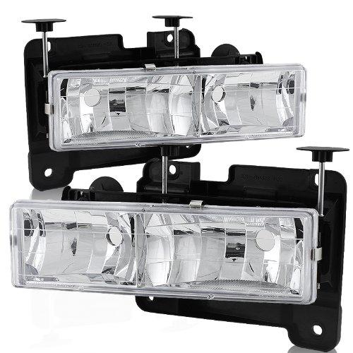 Chevy C10 Chrome Housing (88-02 Chevy/GMC C10 Truck Chrome Housing Headlight)