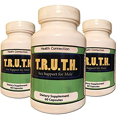 TRUTH #1 Sex PILL for STRONGER, HARDER, LONGER LIBIDO & POWERFUL SEX, Sexual Performance Libido Sex, Boost Testosterone Levels, Male Sex Enhancement Dietary Supplement