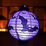Tools & Hardware : Benlet Halloween Party Decoration Spider Bat Skeleton Hanging Paper Pumpki Desk Lamps