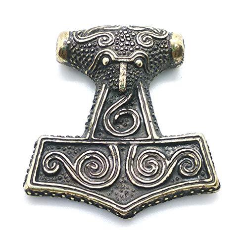 (Thor hammer (Mjolnir) viking pendant. Ram.)