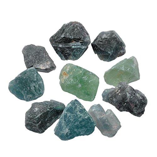 JOVIVI Natural Fluorite Crystal Healing
