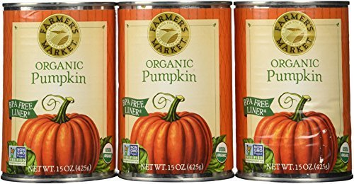 Farmers Market Pumpkin Puree 100% Organic