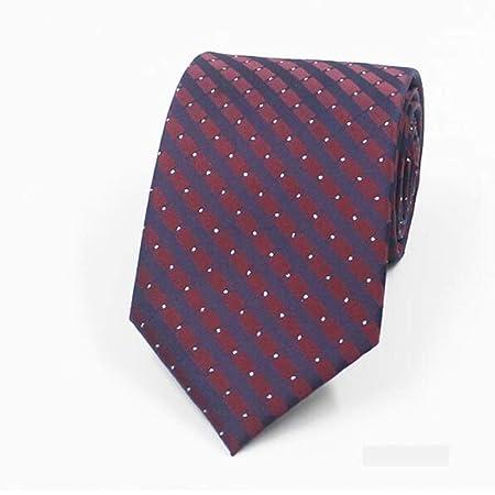 HBJP Corbata/Corbata de Negocios para Hombre/Corbata roja púrpura ...