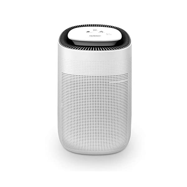Tenergy Sorbi 1000ml Air Dehumidifier w/Air Purifying Function, True HEPA Filter, Auto Shutoff, Touch Control Adjustable… 1