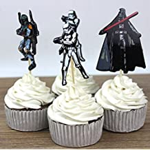 Star Wars Cupcake Picks Assorted - Set of 12 by All Cake Decor