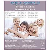 Aqua Shield Waterproof Hypoallergenic Mattress Protector (Double)