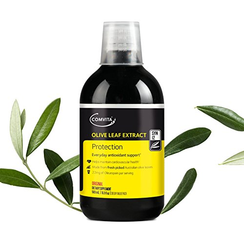 (Comvita Olive Leaf Extract Health Supplement, Natural, 16.9 Fluid Ounce)