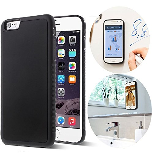 CloudValley Anti Gravity iPhone 6S Plus Case, iPhone 6 Plus Anti Gravity Case Magical Nano Stick to Glass, Whiteboards, Tile and Smooth Surfaces for Apple iPhone 6S Plus(2015)/ iPhone 6 Plus(2014)