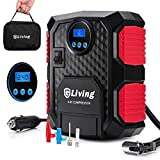 Air Compressor - AUPERTO Digital Tire Inflator Portable DC 12V Car Electric Pump