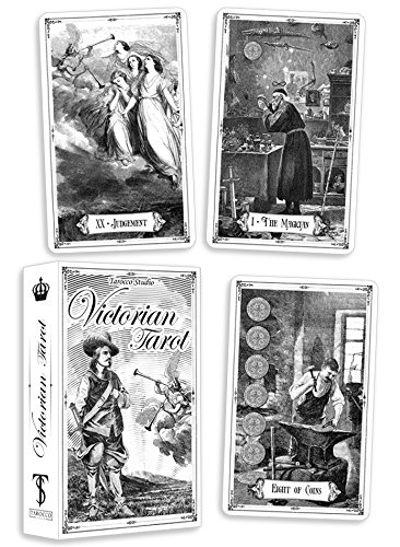 (Victorian Tarot. Vintage Tarot Cards Deck. 80 cards + guidebook)