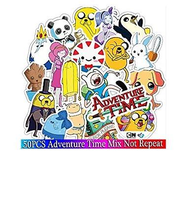 Amazon.com: 50 Pcs Adventure Time Cartoon Animal Sticker for ...