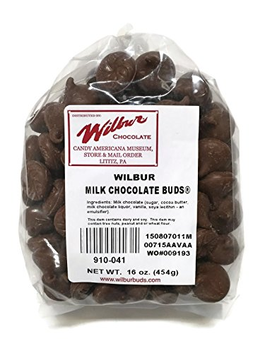 Milk Chocolate Wilbur Bud - 1# (Wilbur Chocolate Buds compare prices)