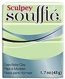 Polyform SU6-6629 Sculpey Souffle Clay, 2-Ounce, Pistachio